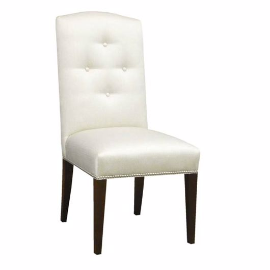Picture of BUTTONED BACK SIDE CHAIR