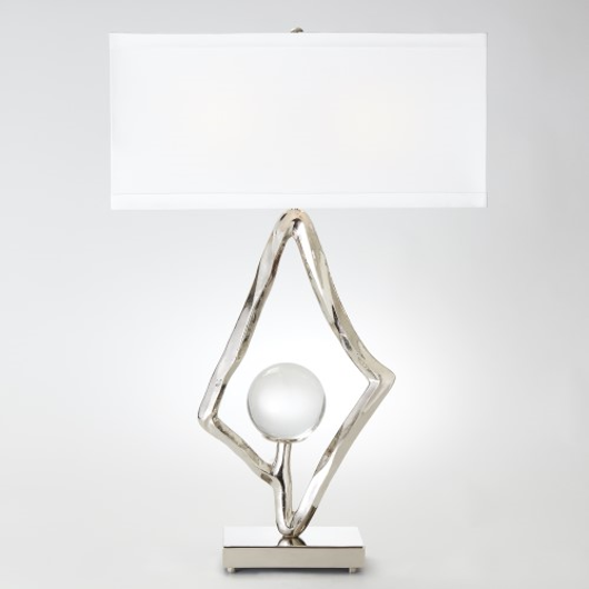 Picture of ABSTRACT LAMP-NICKEL
