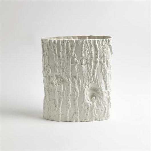 Picture of ACACIA ELLIPSE VASE-MATTE WHITE