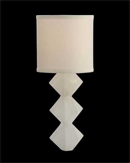 Picture of ALABASTER SINGLE-LIGHT WALL SCONCE